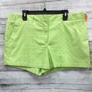 Primary Photo - BRAND: NEW YORK AND CO O STYLE: SHORTS COLOR: LIME GREEN SIZE: 16 SKU: 127-2767-80128