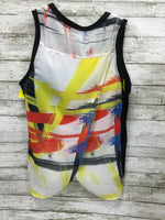 Photo #1 - BRAND:    CMD <BR>STYLE: TOP SLEEVELESS <BR>COLOR: MULTI <BR>SIZE: S <BR>OTHER INFO: SEARCH FOR SANITY - <BR>SKU: 127-3371-45900
