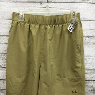 Primary Photo - BRAND: UNDER ARMOUR STYLE: ATHLETIC SHORTS COLOR: KHAKI SIZE: S SKU: 127-4169-30537