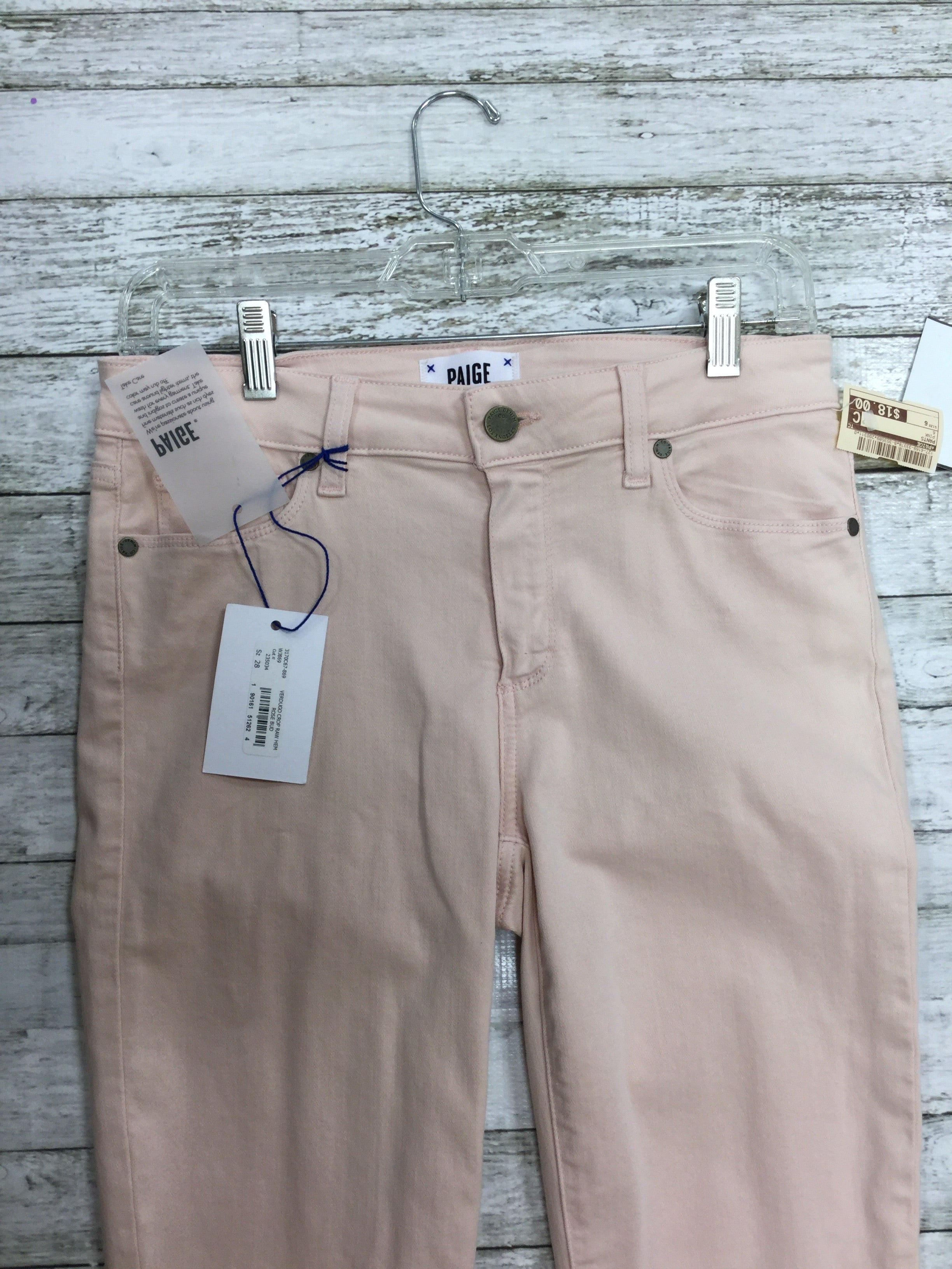Photo #2 - BRAND: PAIGE <BR>STYLE: PANTS <BR>COLOR: PINK <BR>SIZE: 6 <BR>SKU: 127-4169-33378