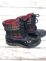 Photo #2 - BRAND: TOMMY HILFIGER , STYLE: BOOTS RAIN , COLOR: NAVY , SIZE: 7 , SKU: 127-4169-37092