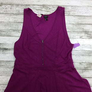 Primary Photo - BRAND: TORRID STYLE: TOP SLEEVELESS COLOR: MAGENTA SIZE: 3SKU: 127-4169-25541