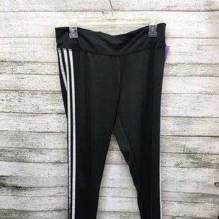 Primary Photo - BRAND: ADIDAS STYLE: ATHLETIC PANTS COLOR: BLACK WHITE SIZE: L SKU: 127-4954-5226