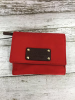 Primary Photo - BRAND: KATE SPADE , STYLE: WALLET , COLOR: RED , SIZE: SMALL , SKU: 127-3371-48386, , IN GREAT CONDITION. MINOR WEAR ON THE INSIDE LEATHER (AS PICTURED).