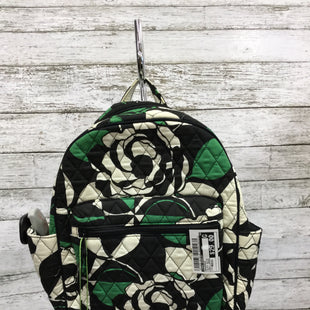 Primary Photo - BRAND: VERA BRADLEY STYLE: BACKPACK COLOR: BLACK WHITE SIZE: MEDIUM OTHER INFO: NEW!/ GREEN SKU: 127-2767-91757NEW WITH TAGS MINI VERA BRADLEY BACKPACK.