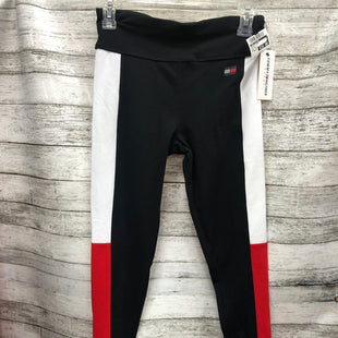 Primary Photo - BRAND: TOMMY HILFIGER STYLE: ATHLETIC PANTS COLOR: RED BLACK SIZE: PETITE   SMALL OTHER INFO: NEW!/ & WHITE SKU: 127-2767-93722
