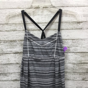 Primary Photo - BRAND: LULULEMON STYLE: ATHLETIC TANK TOP COLOR: GREY WHITE SIZE: S SKU: 127-4559-12195