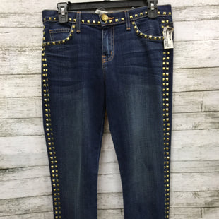 Primary Photo - BRAND: CURRENT ELLIOTT STYLE: JEANS COLOR: DENIM SIZE: 0 SKU: 127-4169-31476THESE JEANS HAVE GOLD DETAILS AROUND THE LEGS, POCKETS, AND WAIST. THEY ARE IN GREAT CONDITION.