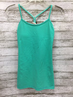 Primary Photo - BRAND: LULULEMON , STYLE: ATHLETIC TANK TOP , COLOR: SEAFOAM , SIZE: S , SKU: 127-4169-37002, , BUILT-IN REMOVABLE PADDING.