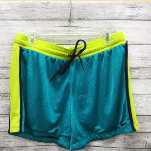 Primary Photo - BRAND: NIKE STYLE: ATHLETIC SHORTS COLOR: BLUE GREEN SIZE: L SKU: 127-4954-5807