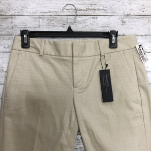 Primary Photo - BRAND: BANANA REPUBLIC STYLE: SHORTS COLOR: TAN SIZE: 0 OTHER INFO: NEW! SKU: 127-2767-82749