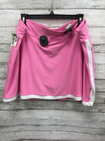 Photo #1 - BRAND: NIKE , STYLE: ATHLETIC SKIRT SKORT , COLOR: PINK , SIZE: 1X , SKU: 127-4008-5041