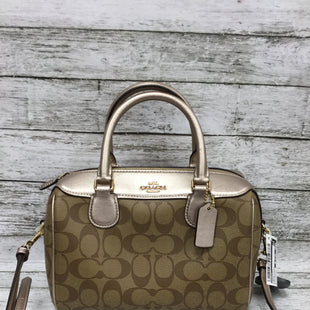 Primary Photo - BRAND: COACH STYLE: CROSSBODY COLOR: BROWN SIZE: MEDIUM OTHER INFO: AS IS MODEL NUMBER: F39588 SKU: 127-3371-47438THIS BAG CAN BE WORN AS EITHER A SHOULDER BAG OR A CROSSBODY. IT IS IN VERY GOOD CONDITION WITH JUST SOME MINOR MARKINGS ON THE OUTSIDE.