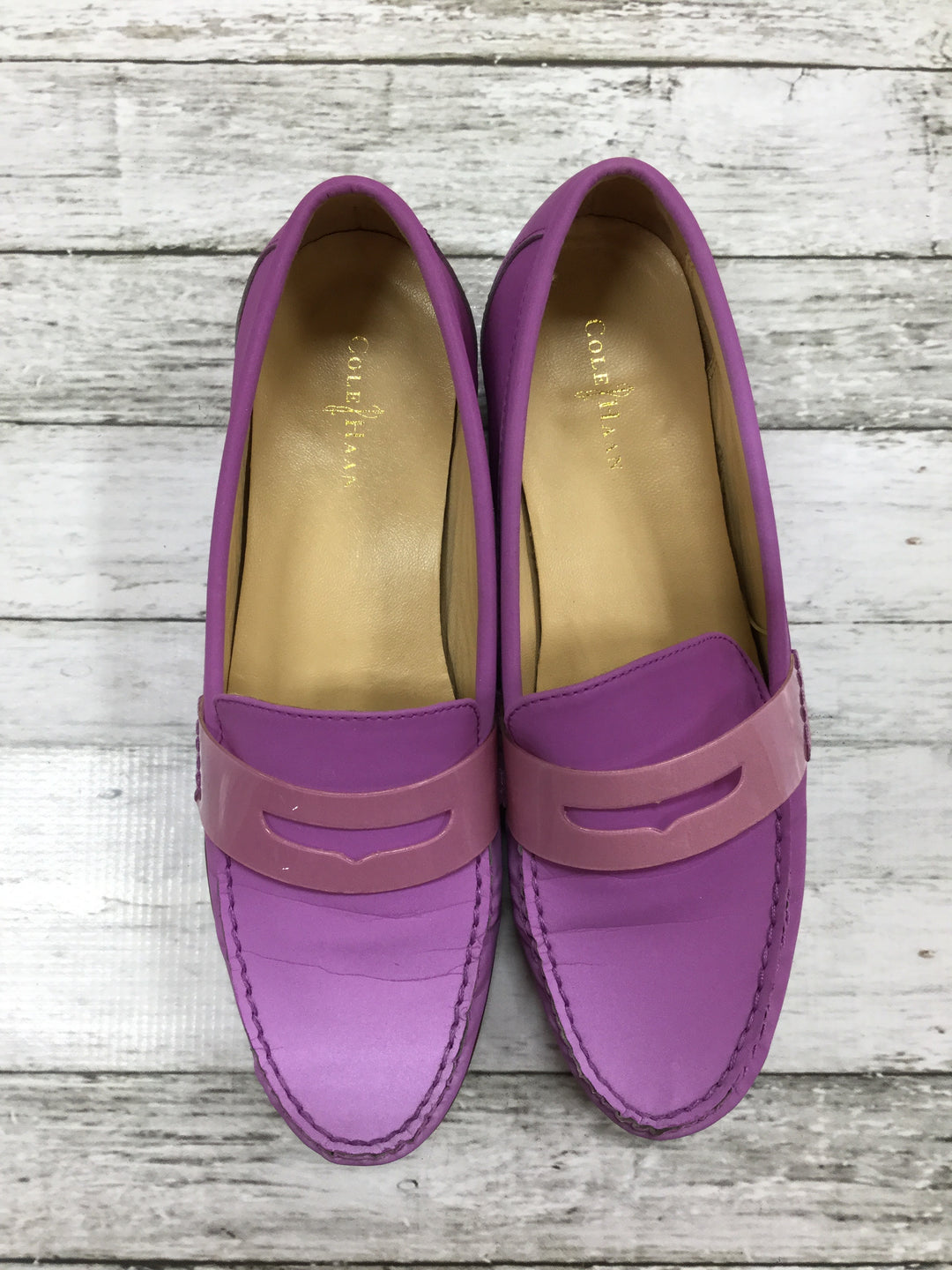 Primary Photo - BRAND: COLE-HAAN , STYLE: SHOES FLATS , COLOR: PURPLE , SIZE: 9.5 , SKU: 127-3371-40060