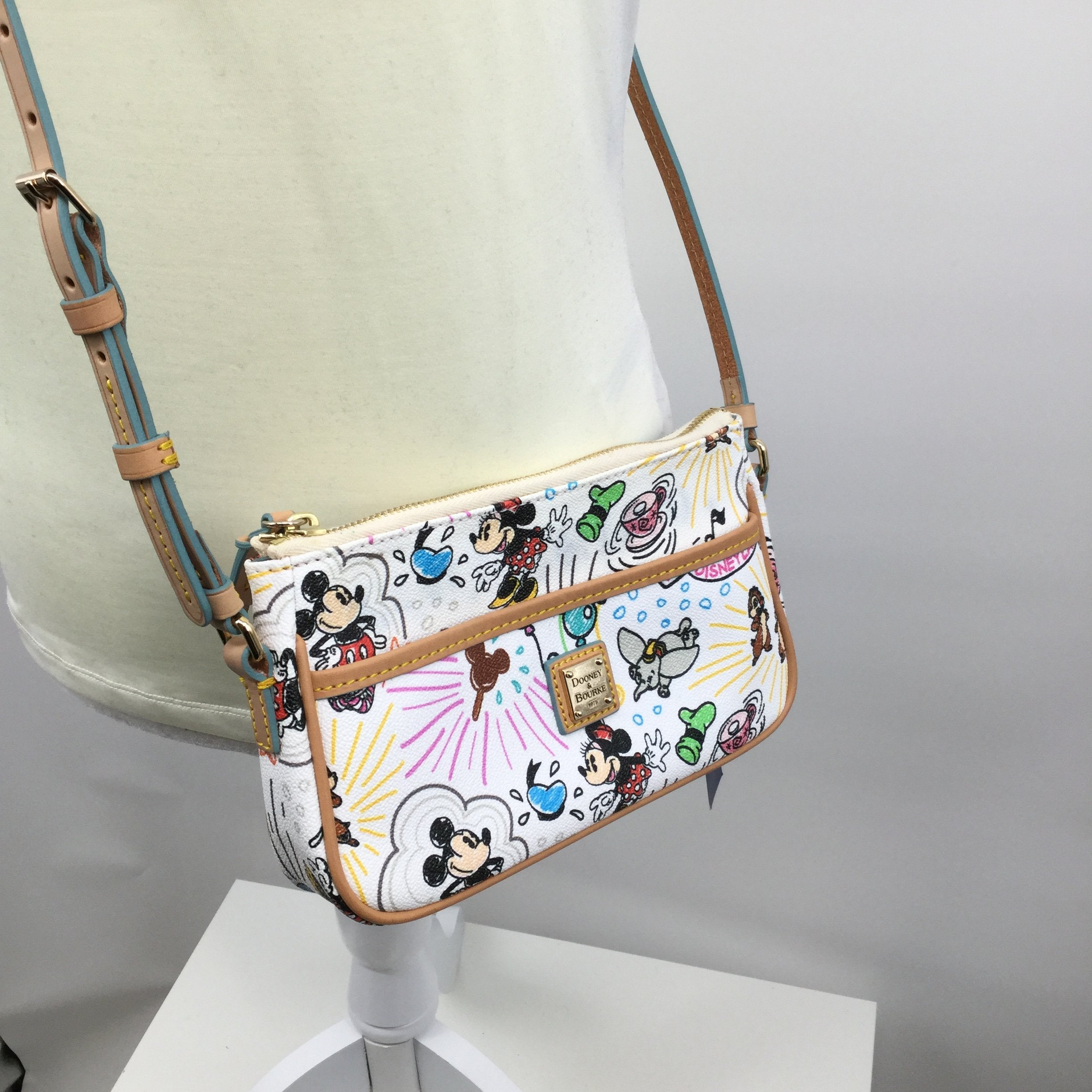 DOONEY AND BOURKE HANDBAG DESIGNER SIZE:SMALL - <P>NEW WITH TAGS DISNEY DOONEY AND BOURKE CROSSBODY!!! ADJUSTIBLE STRAP. MEASURES APPROX. 9