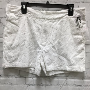 Primary Photo - BRAND: CYNTHIA ROWLEY STYLE: SHORTS COLOR: WHITE SIZE: 12 SKU: 127-4169-35448