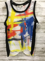 Primary Photo - BRAND:    CMD <BR>STYLE: TOP SLEEVELESS <BR>COLOR: MULTI <BR>SIZE: S <BR>OTHER INFO: SEARCH FOR SANITY - <BR>SKU: 127-3371-45900