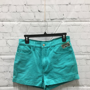 Primary Photo - BRAND: AMERICAN APPAREL STYLE: SHORTS COLOR: MINT SIZE: 8 SKU: 127-4876-7433MINT COLORED SHORTS FROM AMERICAN APPAREL.