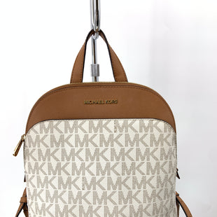 Primary Photo - BRAND: MICHAEL KORS STYLE: HANDBAG DESIGNER COLOR: CREAM SIZE: SMALL OTHER INFO: AS IS SKU: 127-4169-38392BACKPACK SOME CONDITION