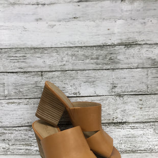 Primary Photo - BRAND: MADEWELL STYLE: SANDALS HIGH COLOR: CAMEL SIZE: 7.5 SKU: 127-4072-2506CHUNKY HEELED SANDALS BY MADEWELL!