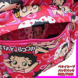 ▼Betty Boop バックパック【 RED PINK 】