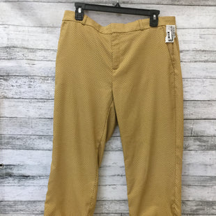 Primary Photo - BRAND: BANANA REPUBLIC STYLE: ANKLE PANT COLOR: MUSTARD SIZE: 10 SKU: 125-3590-30883