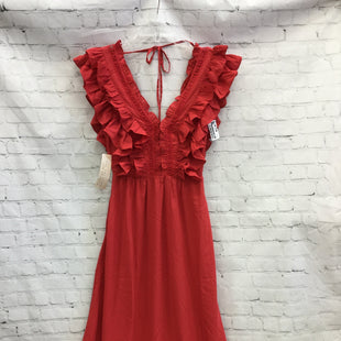 Primary Photo - BRAND:    HAPPY NATURE STYLE: DRESS LONG SLEEVELESS COLOR: RED SIZE: XXS OTHER INFO: HAPPY NATURE  - NEW! SKU: 125-3916-63297