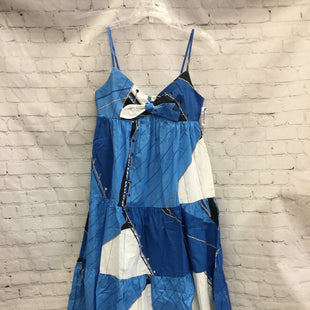Primary Photo - BRAND: J CREW STYLE: DRESS LONG SLEEVELESS COLOR: BLUE WHITE SIZE: 2 OTHER INFO: NEW! SKU: 125-3916-63304
