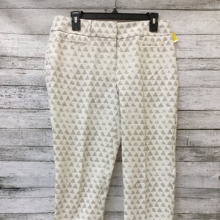 Primary Photo - BRAND: ANN TAYLOR LOFT STYLE: ANKLE PANT COLOR: CREAM SIZE: 8 SKU: 125-3590-32283
