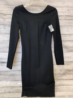 Primary Photo - BRAND: CACHE O , STYLE: DRESS SHORT LONG SLEEVE , COLOR: BLACK , SIZE: 2 , SKU: 125-4872-3980