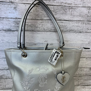 Primary Photo - BRAND: JUICY COUTURE STYLE: HANDBAG COLOR: SILVER SIZE: LARGE SKU: 125-4893-4405