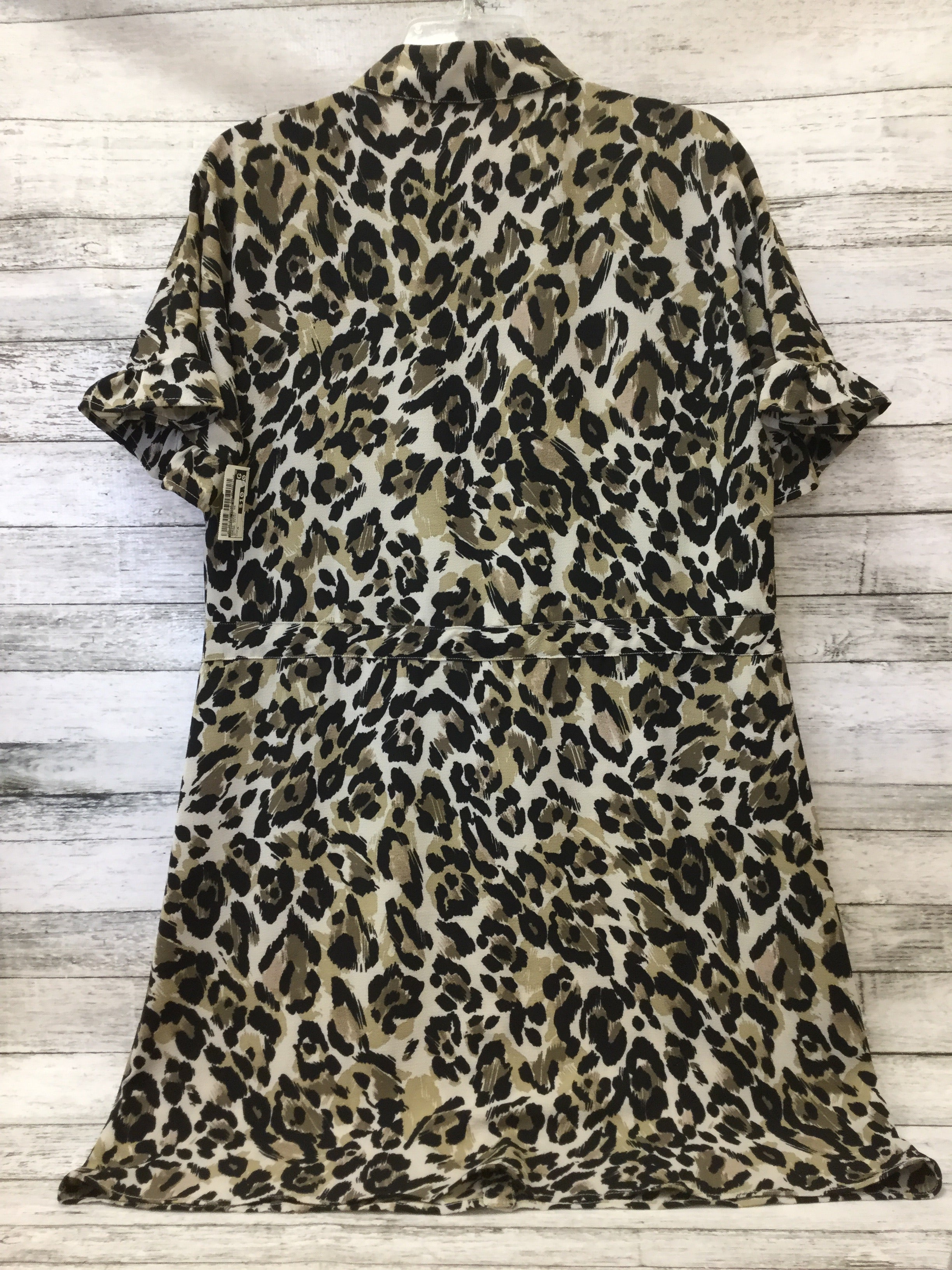 Photo #1 - BRAND: CHARMING CHARLIE , STYLE: DRESS SHORT SHORT SLEEVE , COLOR: ANIMAL PRINT , SIZE: M , SKU: 125-3916-59937