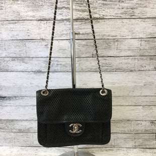 Primary Photo - BRAND: CHANEL STYLE: HANDBAG DESIGNER COLOR: BLACK SIZE: SMALL SKU: 125-3916-60189. CHANEL UP IN THE AIR FLAP BAG COMES WITH DUST BAG AND CERTIFICATE OF AUTHENTICITY .