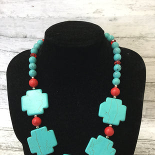 Primary Photo - BRAND:    CMD STYLE: NECKLACE COLOR: TURQUOISE SKU: 125-4893-6755
