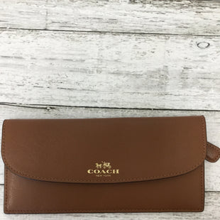 Primary Photo - BRAND: COACH STYLE: WALLET COLOR: BROWN SIZE: MEDIUM SKU: 125-3916-55114