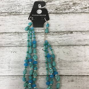 Primary Photo - BRAND:    CMD STYLE: NECKLACE SET COLOR: TURQUOISE SIZE: 03 PIECE SET SKU: 125-3590-32319