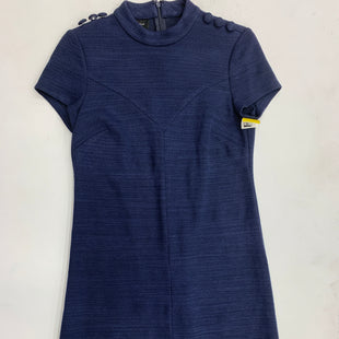 Primary Photo - BRAND: DONNA MORGAN STYLE: DRESS SHORT SHORT SLEEVE COLOR: NAVY SIZE: 0 SKU: 125-1957-4779
