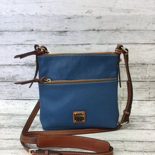 Primary Photo - BRAND: DOONEY AND BOURKE STYLE: CROSSBODY COLOR: SLATE BLUE SIZE: MEDIUM SKU: 125-3916-60284