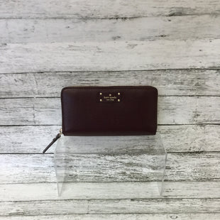 Primary Photo - BRAND: KATE SPADE STYLE: WALLET COLOR: MAROON SIZE: LARGE SKU: 125-4432-4110