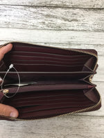 Photo #3 - BRAND: KATE SPADE <BR>STYLE: WALLET <BR>COLOR: MAROON <BR>SIZE: LARGE <BR>SKU: 125-4432-4110