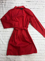Photo #2 - brand: joan rivers , style: dress short long sleeve , color: red , size: l , sku: 125-3590-35991