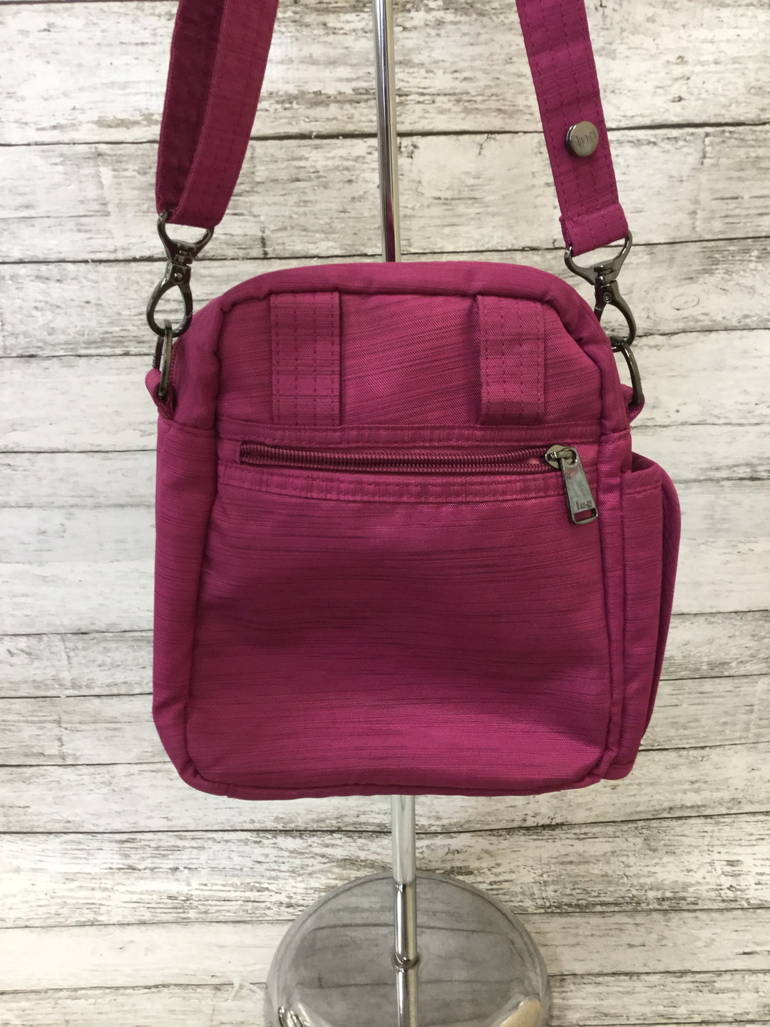 Photo #3 - BRAND:   CMC <BR>STYLE: CROSSBODY <BR>COLOR: RASPBERRY <BR>SIZE: SMALL <BR>OTHER INFO: LUG - HAS TWO STRAPS <BR>SKU: 125-4893-4508