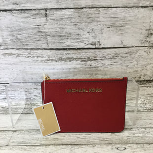 Primary Photo - BRAND: MICHAEL BY MICHAEL KORS STYLE: WALLET COLOR: RED SIZE: SMALL SKU: 125-4870-7766