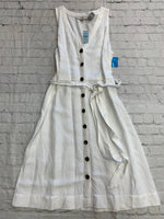 Primary Photo - brand: loft , style: dress long sleeveless , color: white , size: 12petite , other info: new! , sku: 125-3916-63199
