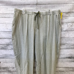 Primary Photo - BRAND: CROFT AND BARROW STYLE: ANKLE PANT COLOR: STRIPED SIZE: 2X OTHER INFO: NEW! CAPRIS SKU: 125-4893-4920