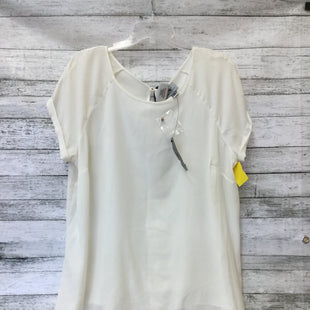 Primary Photo - BRAND: WORTHINGTON STYLE: TOP SHORT SLEEVE COLOR: IVORY SIZE: 1X OTHER INFO: NEW! SKU: 125-4893-2727