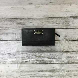 Primary Photo - BRAND: KATE SPADE STYLE: WALLET COLOR: BLACK SIZE: MEDIUM SKU: 125-4432-4111