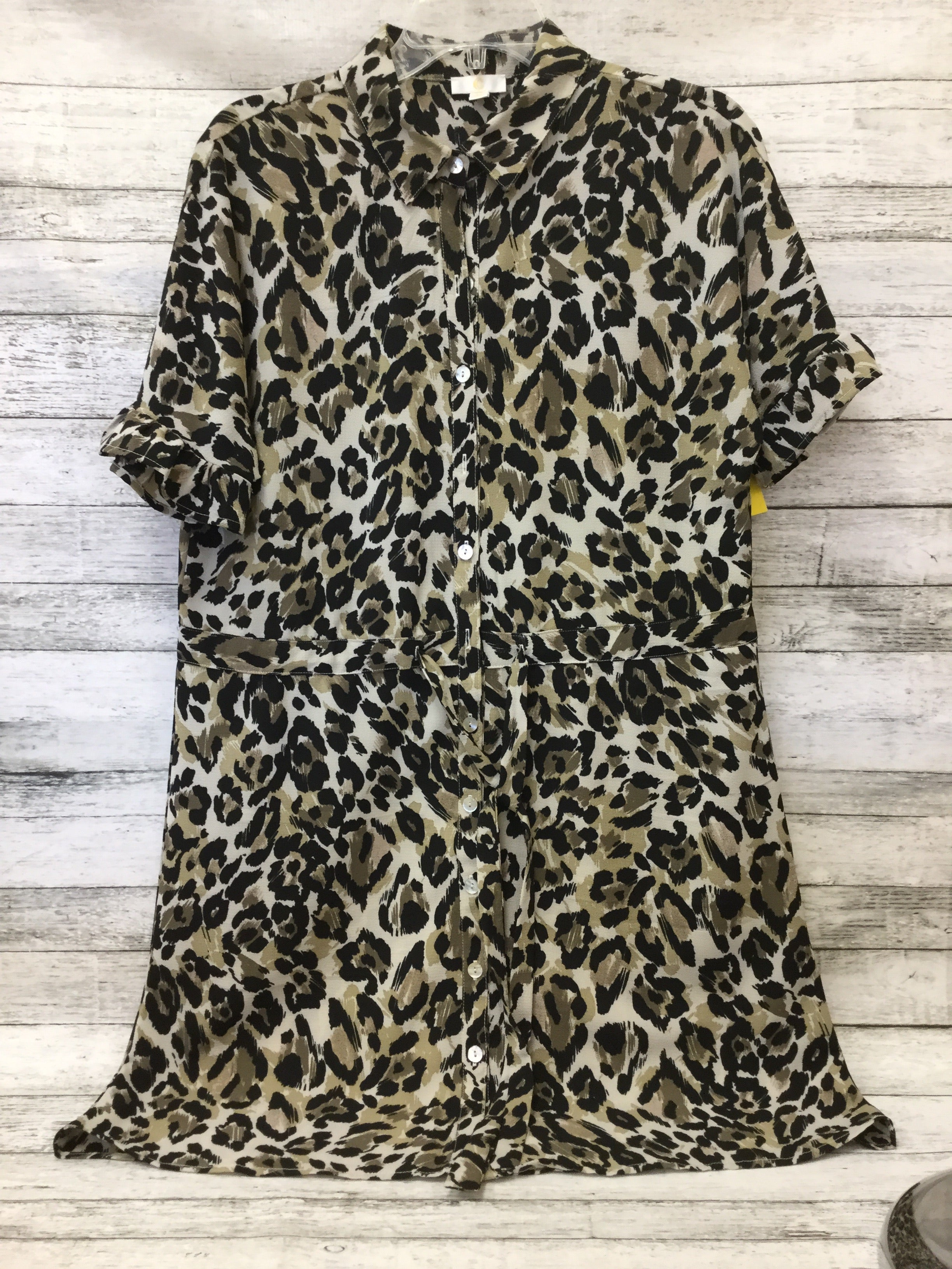Primary Photo - BRAND: CHARMING CHARLIE , STYLE: DRESS SHORT SHORT SLEEVE , COLOR: ANIMAL PRINT , SIZE: M , SKU: 125-3916-59937