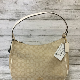 Primary Photo - BRAND: COACH STYLE: HANDBAG DESIGNER COLOR: CREAM SIZE: MEDIUM OTHER INFO: NEW! SKU: 125-4432-4587