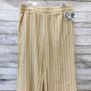 Primary Photo - BRAND: CLOTH AND STONE STYLE: ANKLE PANT COLOR: YELLOW SIZE: M SKU: 125-4872-4240